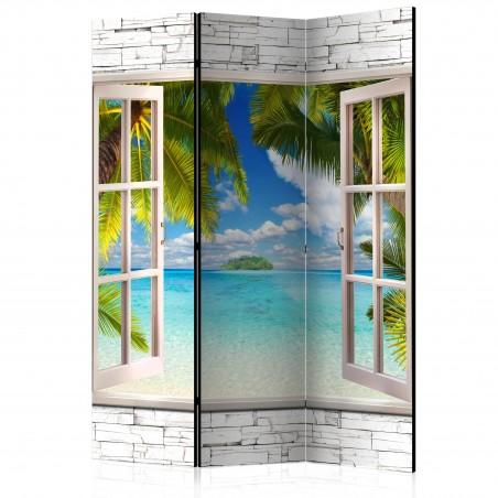 Paravento - Dream Island [Room Dividers] - Quadri e decorazioni