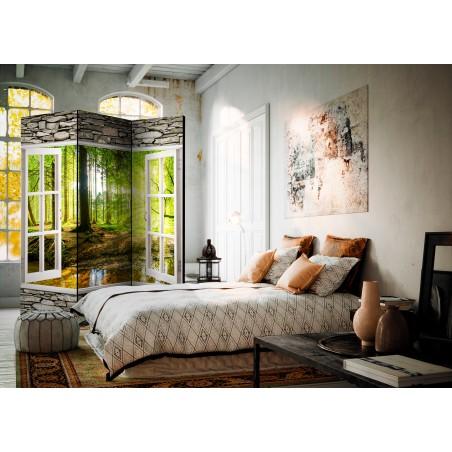 Paravento - Morning Forest [Room Dividers] - Quadri e decorazioni