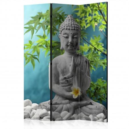 Paravento - Meditating Buddha [Room Dividers] - Quadri e decorazioni