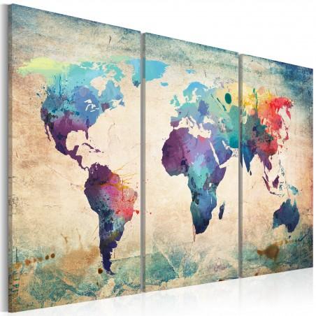 Quadro - Mappa iridata: trittico - Quadri e decorazioni