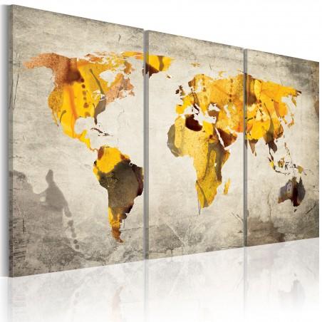 Quadro - Continenti soleggiati: trittico - Quadri e decorazioni