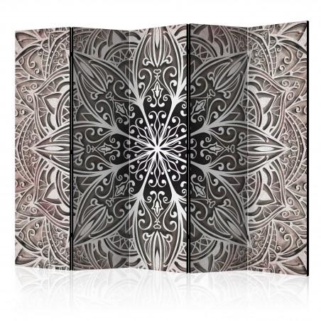 Paravento - Feathers (Pink) II [Room Dividers] - Quadri e decorazioni