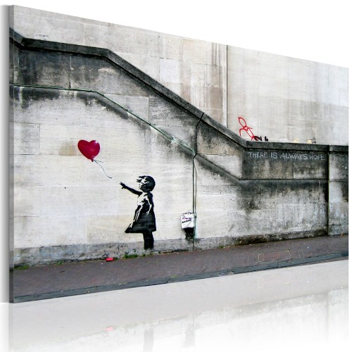 Quadro - C'e' sempre speranza (Banksy) - Quadri e decorazioni