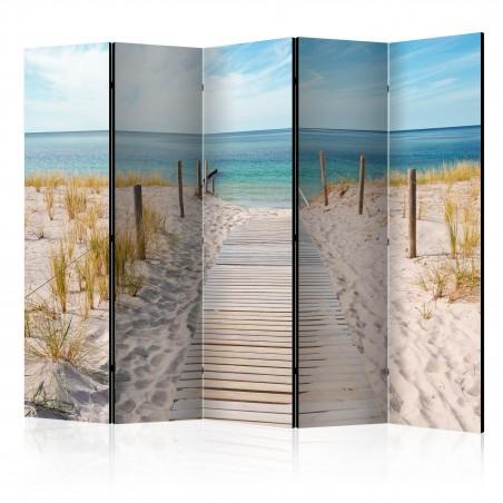 Paravento - Holiday at the Seaside II [Room Dividers] - Quadri e decorazioni