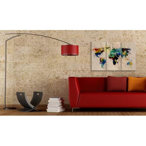 Quadro - Il mondo dei colori - trittico - Quadri e decorazioni