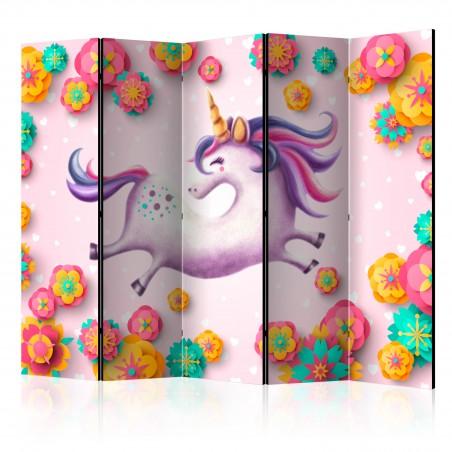 Paravento - Lithe Unicorn II [Room Dividers] - Quadri e decorazioni