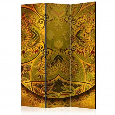Paravento - Mandala: Forza d'oro [Room Dividers] - Quadri e decorazioni
