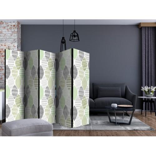 Paravento - Green Tears II [Room Dividers] - Quadri e decorazioni