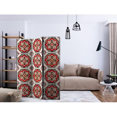 Paravento - Dance of Red Line [Room Dividers] - Quadri e decorazioni