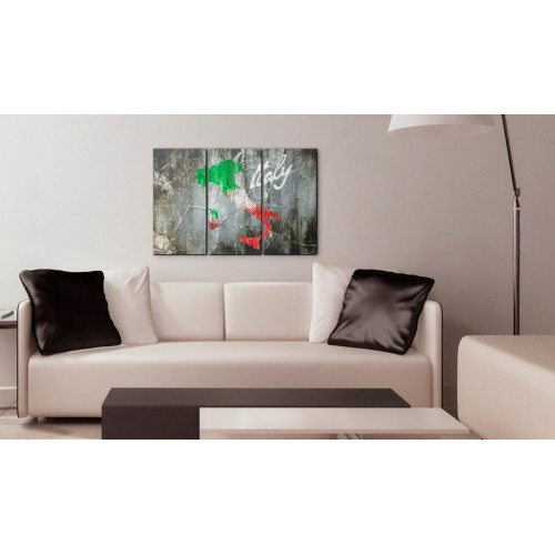 Quadro - Mappa artistica d'Italia: trittico - Quadri e decorazioni