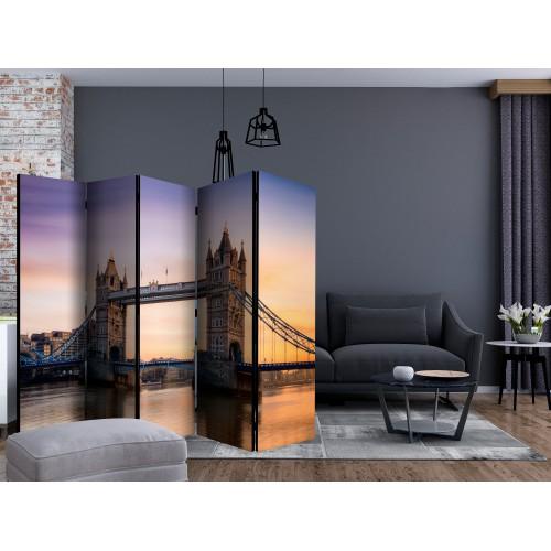 Paravento - Bridge at Sunset II [Room Dividers] - Quadri e decorazioni