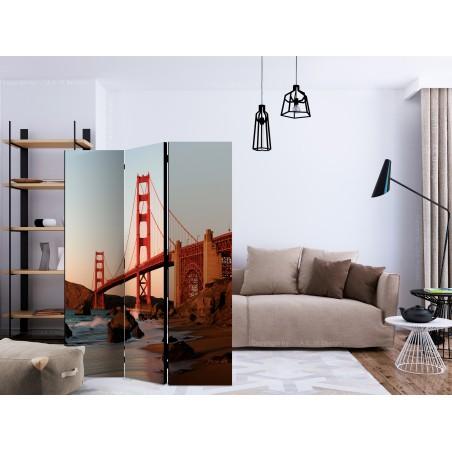 Paravento - Flaming Landscape [Room Dividers] - Quadri e decorazioni