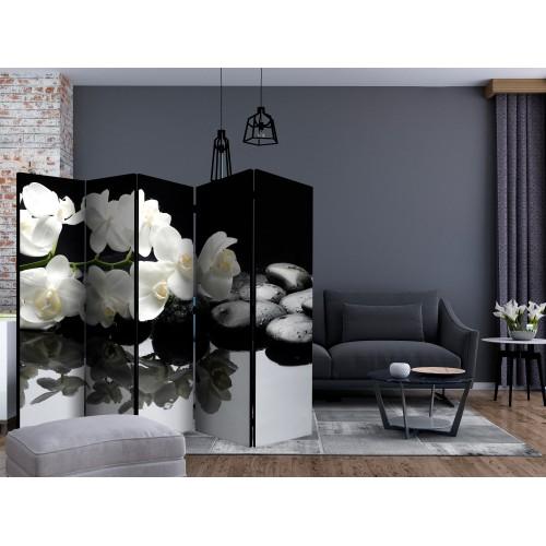 Paravento - Spa, Stones and Orchid II [Room Dividers] - Quadri e decorazioni