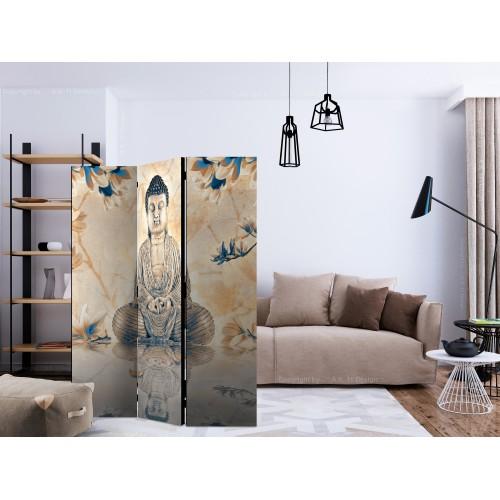 Paravento - Buddha of Prosperity [Room Dividers] - Quadri e decorazioni