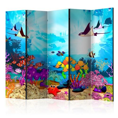Paravento - Colourful Fish II [Room Dividers] - Quadri e decorazioni