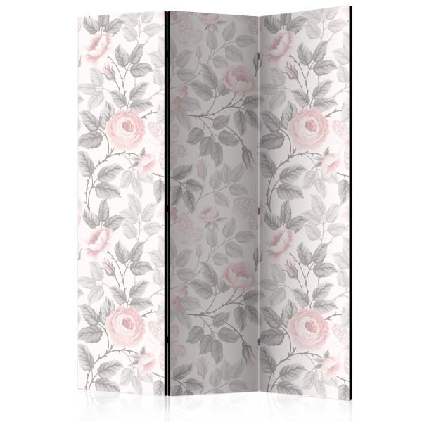 Paravento - Watercolor Roses [Room Dividers] - Quadri e decorazioni