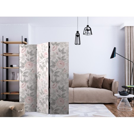 Paravento - Watercolor Roses [Room Dividers] - Quadri e decorazioni