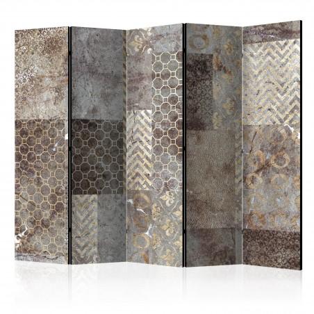 Paravento - Geometric Textures II [Room Dividers] - Quadri e decorazioni