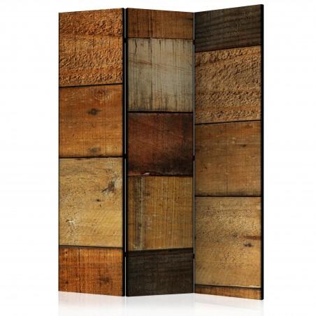 Paravento - Wooden Textures [Room Dividers] - Quadri e decorazioni