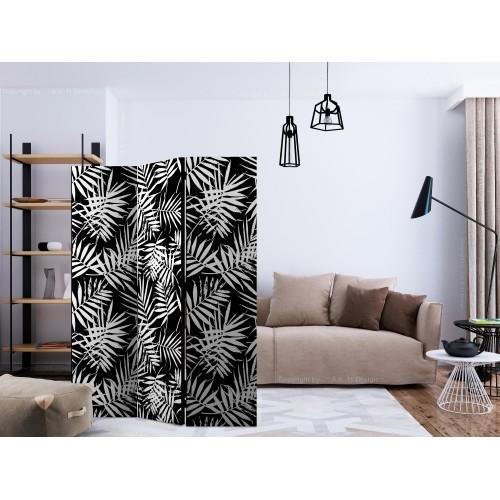 Paravento - Black and White Jungle [Room Dividers] - Quadri e decorazioni