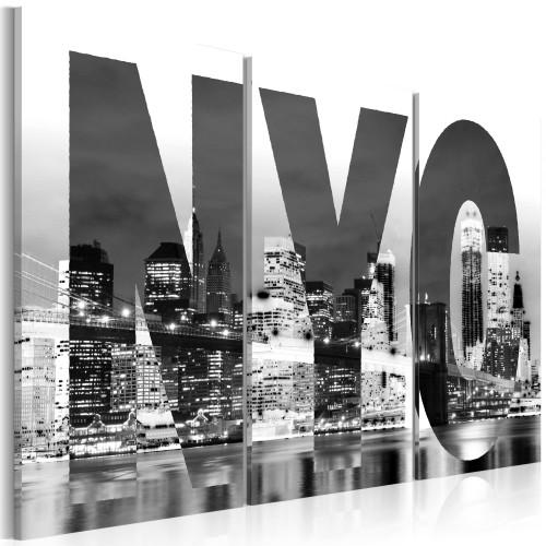 Quadro - New York (bianco e nero) - Quadri e decorazioni
