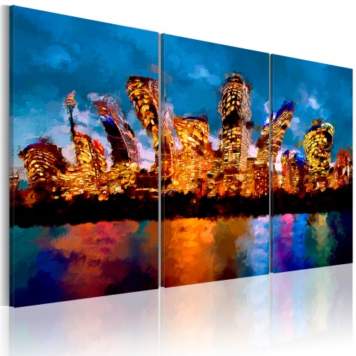Quadro - Mad city - triptych - Quadri e decorazioni