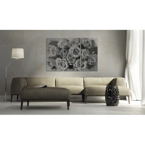 Quadro - Dodici rose - trittico - Quadri e decorazioni