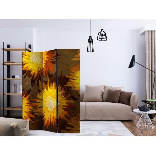 Paravento - Sunflower dance [Room Dividers] - Quadri e decorazioni