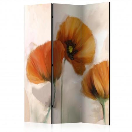 Paravento - poppies - vintage [Room Dividers] - Quadri e decorazioni
