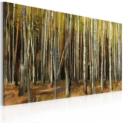 Quadro - Mistero della foresta di Sherwood - trittico - Quadri e decorazioni