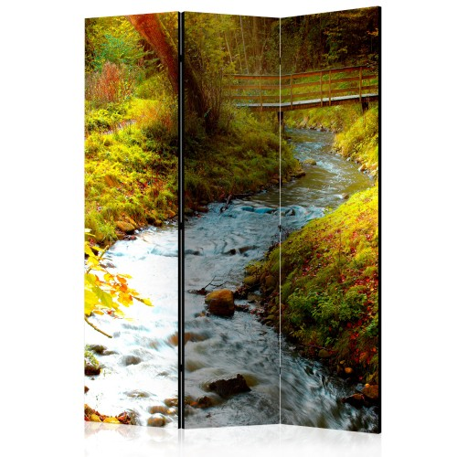 Paravento - brook (sunrise) [Room Dividers] - Quadri e decorazioni