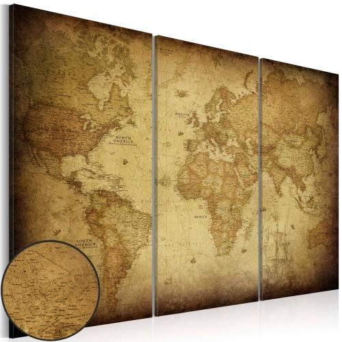 Quadro - Vecchia mappa: trittico - Quadri e decorazioni