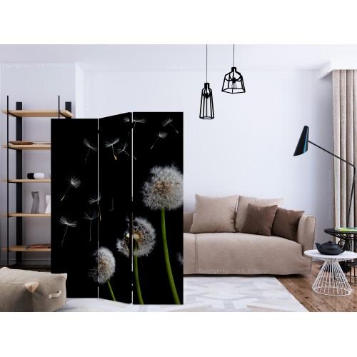 Paravento - Dandelions in the wind [Room Dividers] - Quadri e decorazioni