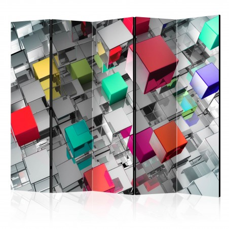 Paravento - Colours of Metal II [Room Dividers] - Quadri e decorazioni