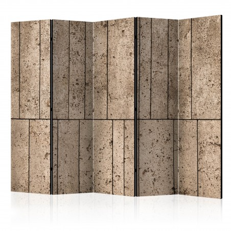 Paravento - Beige Wall II [Room Dividers] - Quadri e decorazioni