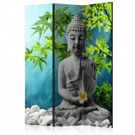 Paravento - Buddha: Beauty of Meditation [Room Dividers] - Quadri e decorazioni