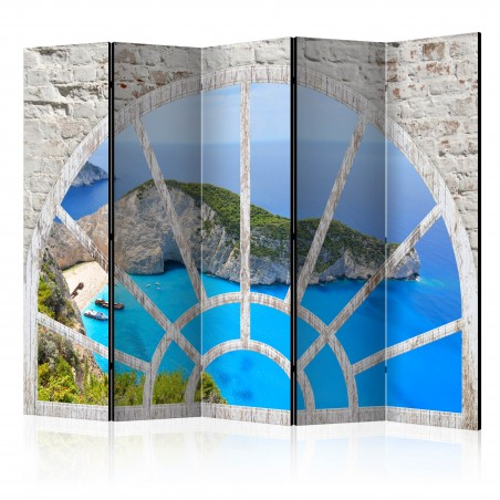 Paravento - Look At The Island Of Dreams II [Room Dividers] - Quadri e decorazioni