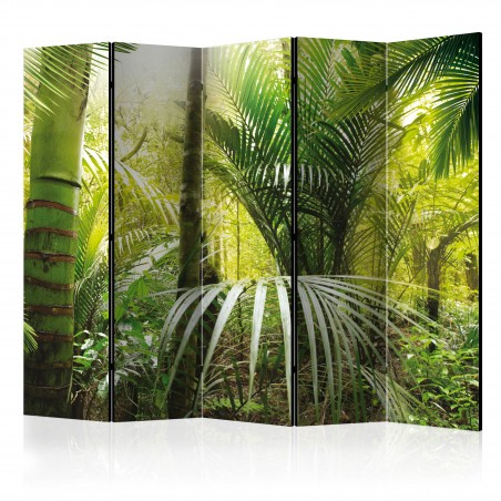 Paravento - Green alley II [Room Dividers] - Quadri e decorazioni