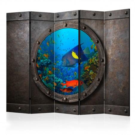 Paravento - Submarine Window II [Room Dividers] - Quadri e decorazioni