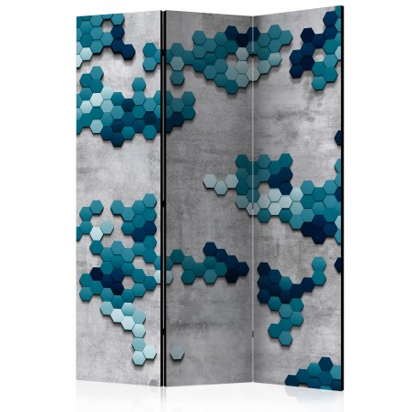 Paravento - Sea puzzle [Room Dividers] - Quadri e decorazioni