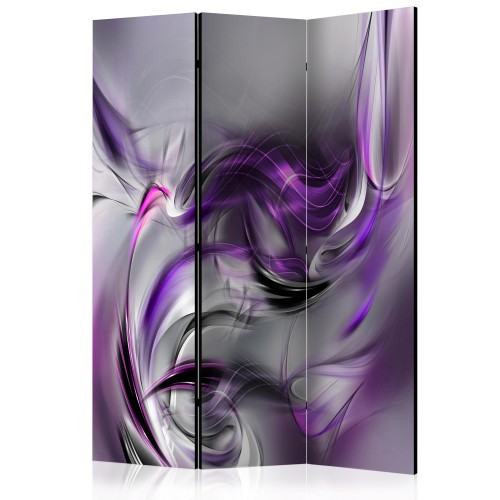 Paravento - Purple Swirls II [Room Dividers] - Quadri e decorazioni