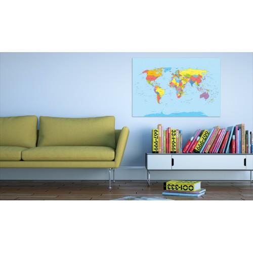 Quadro - Rainbow Geography - Quadri e decorazioni