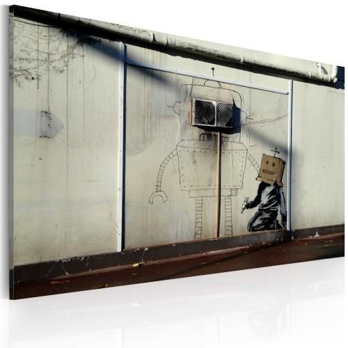 Quadro - Robot (Banksy) - Quadri e decorazioni