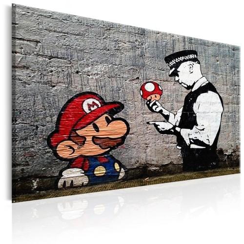 Quadro - Mario and Cop by Banksy - Quadri e decorazioni