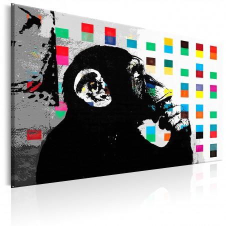 Quadro - Banksy The Thinker Monkey - Quadri e decorazioni