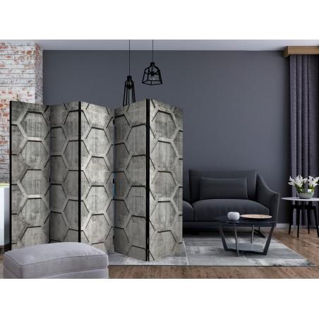 Paravento - Platinum cubes II [Room Dividers] - Quadri e decorazioni