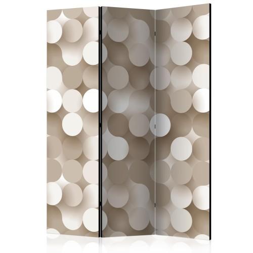 Paravento - Gold Net [Room Dividers] - Quadri e decorazioni
