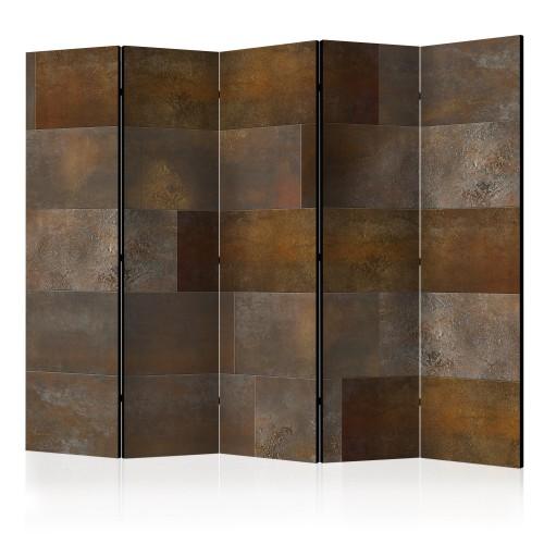 Paravento - Golden Cascade II [Room Dividers] - Quadri e decorazioni
