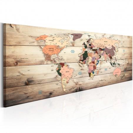Quadro - World Maps: Map of Dreams - Quadri e decorazioni