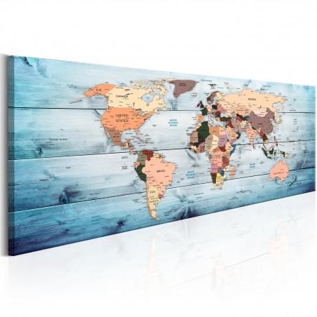 Quadro - World Maps: Sapphire Travels - Quadri e decorazioni